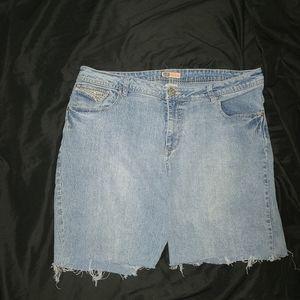 Faded Glory Blue Jean Shorts